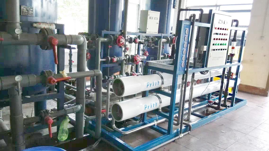 6T/h一级反渗透水处理